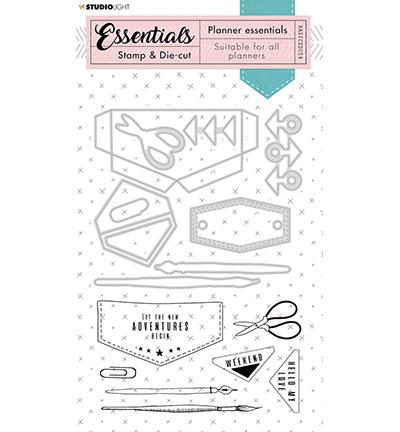 Studio Light - Stamp & Die-cut - Essentials - nr.54