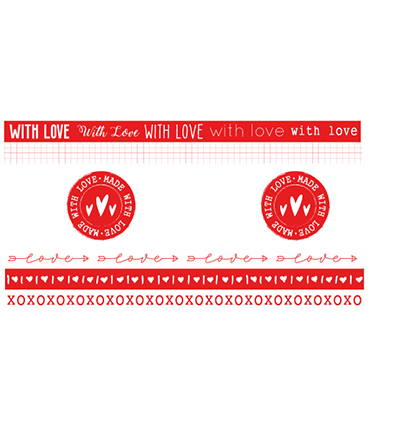 Studio Light - Washi Tape - Filled With love - nr.19
