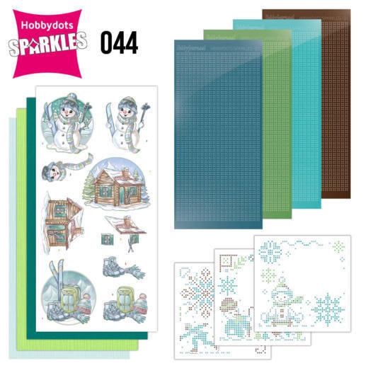 Sparkles Set 44 - Yvonne Creations - Wintertime - Ski