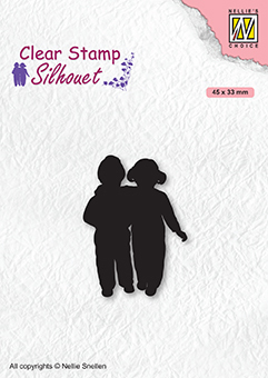 Silhouettes: Close Friends