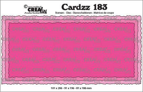 Crealies Cardzz Slimline C CLCZ183 100 x 205 mm (10-20)