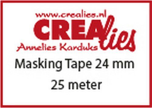 Crealies Basis Masking tape CLBSMT 24 mmx25 m (10-20)