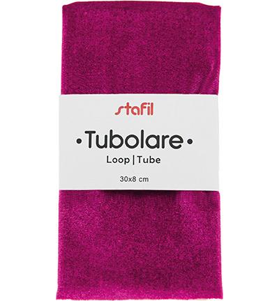 velour tube, purple
