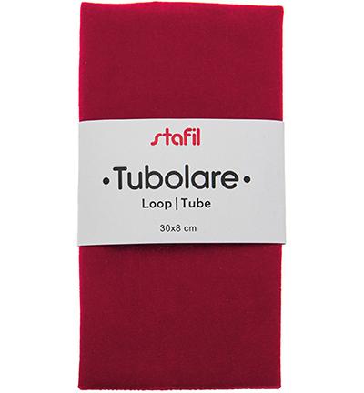 velour tube, red