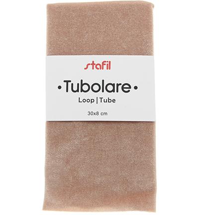 velour tube, powder