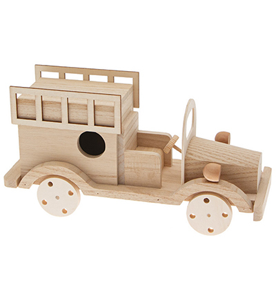 DIY kit wooden car