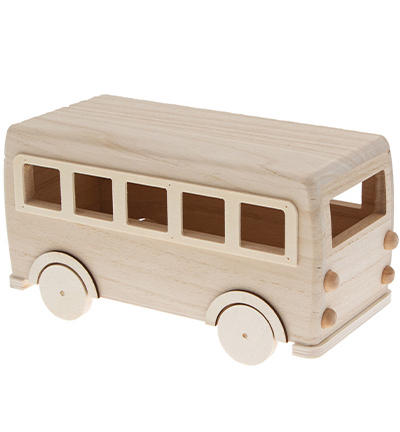 DIY kit wooden bus