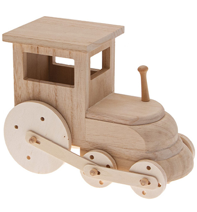 DIY kit wooden train