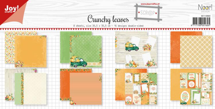Scrap Papierset - Noor - Design Crunchy leaves