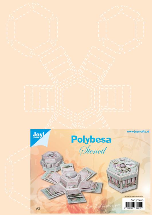 Polybesastencil Explosiedoosjes
