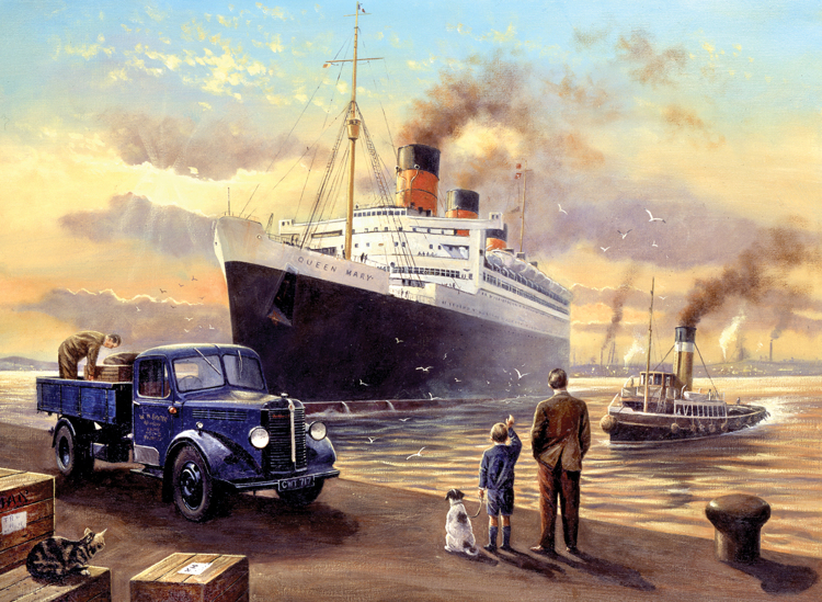 Painting by numbers QUEEN DEPARTS