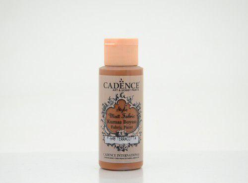 Cadence Style matt textiel verf Terracotta 01 021 F648 0059 59ml (09-20)