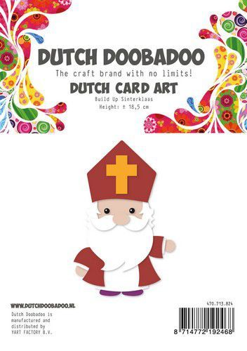 Dutch Doobadoo Card Art Built up Sinterklaas A5 470.713.824 (10-20)