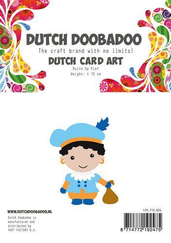 Dutch Doobadoo Card Art Build Up Piet A5 470.713.826 (10-20)