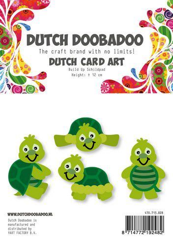 Dutch Doobadoo Card Art Build Up Schildpad A5 470.713.828 (10-20)