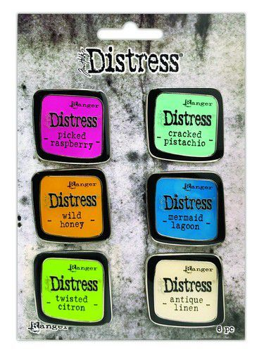 Ranger Distress Pin-Carded -Distress Pin Set 1 - 6 st TDZS73437 Tim Holtz (07-20)