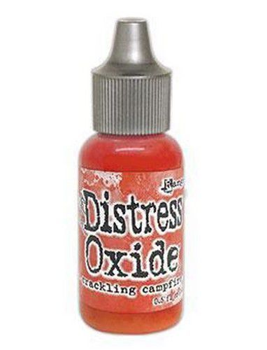 Ranger Distress Oxide Re-Inker 14 ml - Crackling Campfire TDR72324 Tim Holtz (09-20)
