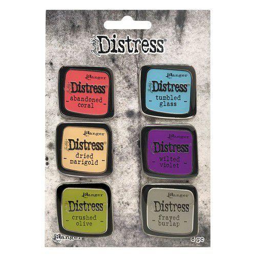 Ranger Distress Pin-Carded -Distress Pin Set 3 - 6 st TDZS73451 Tim Holtz (11-20)