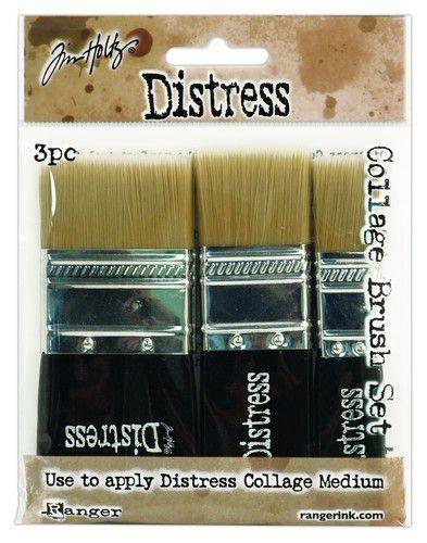 Ranger Tim Holtz Distress Collage Brush 3 Pack TDA50896 (11-20)