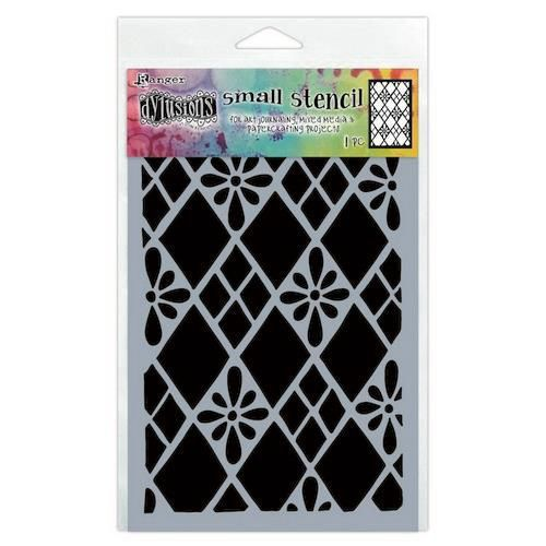 Ranger Dylusions Stencils Diamond Are Forever - Small DYS75295 (11-20)