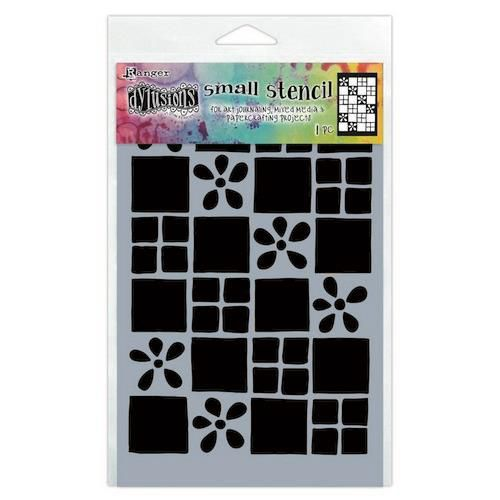 Ranger Dylusions Stencils Square Dance - Small DYS75301 (11-20)