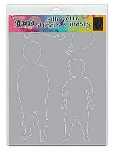 Ranger Dylusions Stencils Silhouette - Otis DYS75363 (11-20)