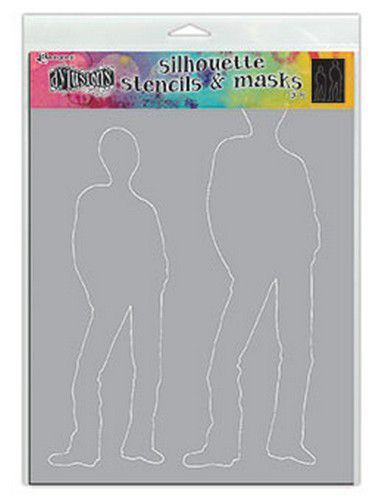 Ranger Dylusions Stencils Silhouette - Tom DYS75370 (11-20)