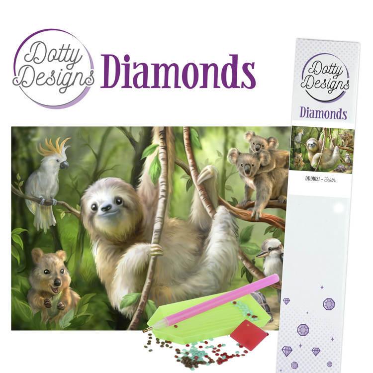 Dotty Designs Diamonds - Sloth