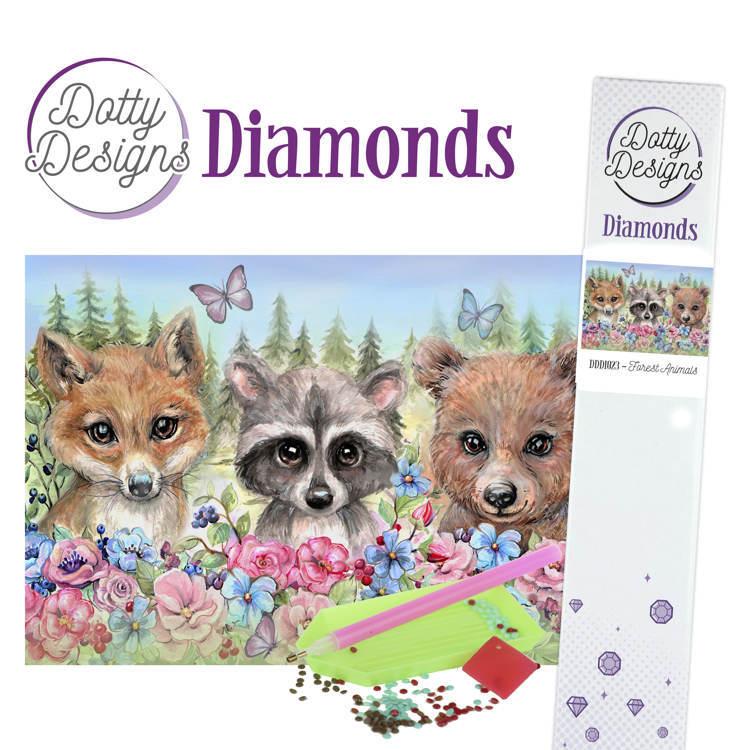 Dotty Designs Diamonds - Forest Animals