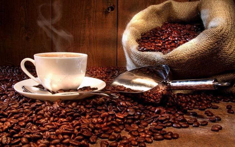 Diamond Painting koffie bonen