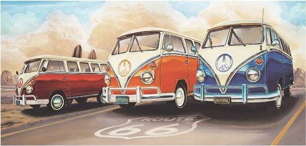Diamond Painting 3 old cars