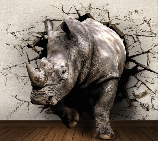 Diamond Painting nijlpaard