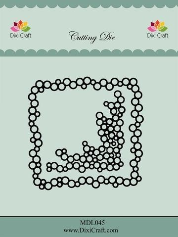 """MDL045 Dixie Craft Dies """"Bubble frame"""""""