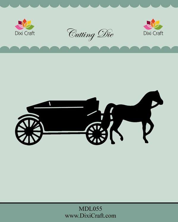 Dixi Craft Horse Wagon Dies (MDL055)