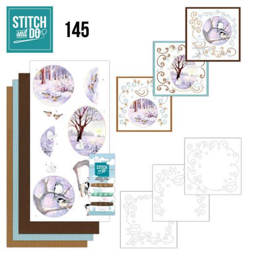 Stitch and Do 145 - Jeanine's Art - Winter Landscape