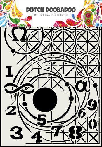 Dutch Doobadoo Mask Art Meetkunde A4 470.715.815 (11-20)