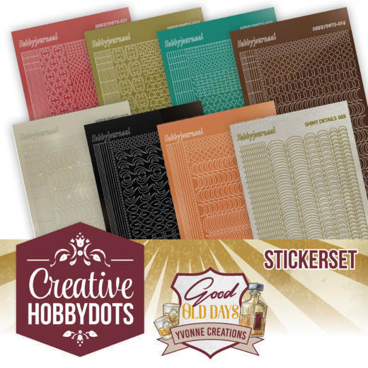 Creative Hobbydots 8 - Sticker Set