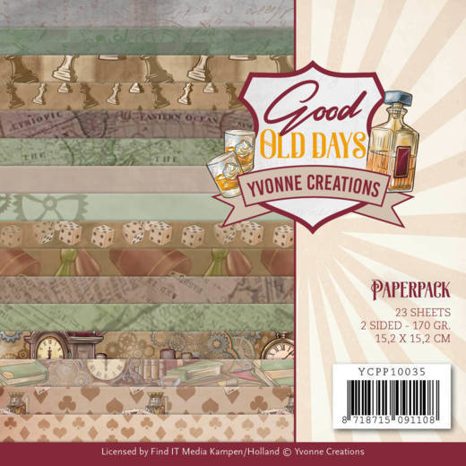Paperpack - Yvonne Creations - Good old day's