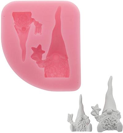 silicone mold, gnomes x2