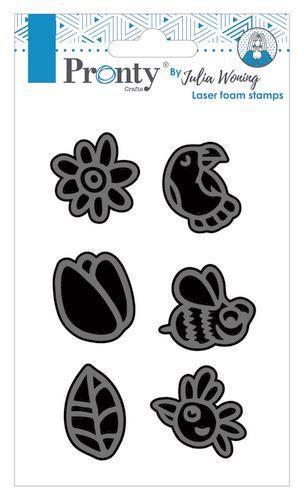 Pronty Foam stamp set spring 494.904.021 Julia Woning