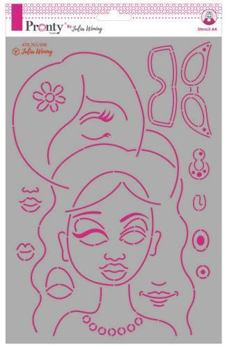 Pronty Stencil Journal Faces 470.765.998 Julia Woning (11-20)