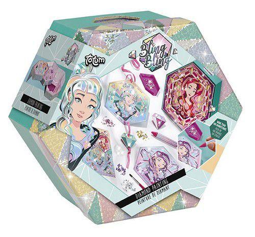 Totum kinder hobbyset Bling Bling Diamond painting 061026 6+ (11-20)