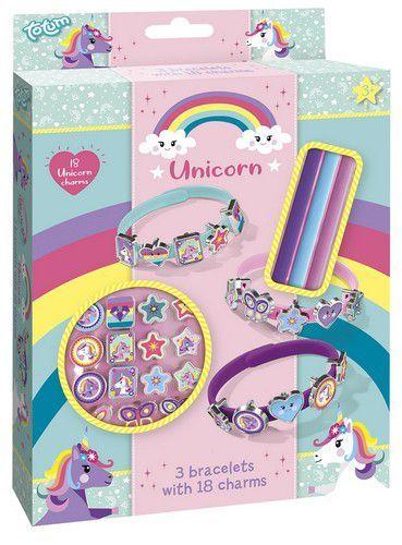Totum kinder hobbyset Unicorn Bracelets - schuifarmbandjes 071551 15x18x2,5cm 3+ (11-20)