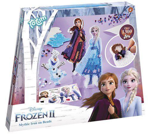 Totum kinder hobbyset Frozen 2 strijkralenset - Iron on beads 680685 24,5x23x3,5cm 5+ (11-20)