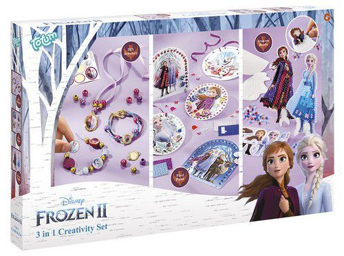 Totum kinder hobbyset Frozen 2 - 3 in 1 creativity set 682092 (11-20)