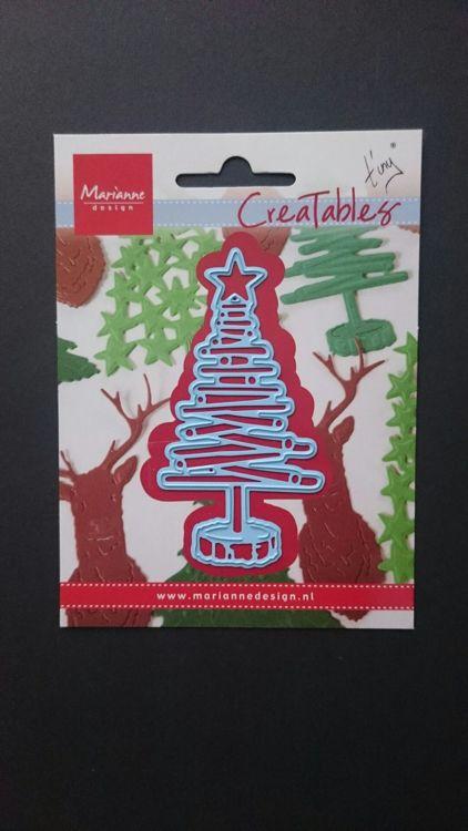 Marianne Design - Creatables - Tiny`s Christmas Tree Wood