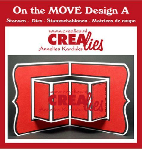Crealies On The Move Design A CLMOVE01 13,5x27cm (11-20)