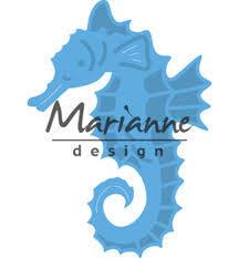Marianne Design - Die - CreaTables - Sea horse - LR0536