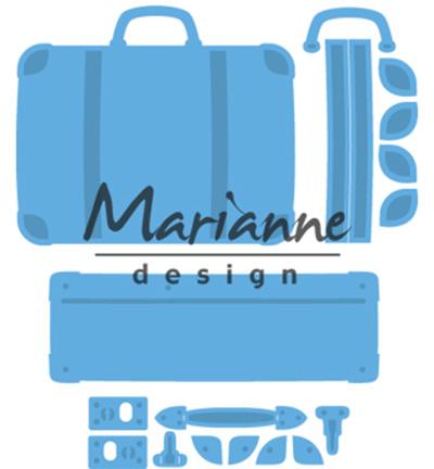 Marianne Design - Die - CreaTables - Suitcase - LR0542