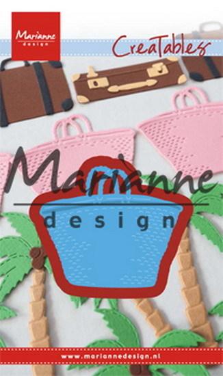 Marianne Design - Die - CreaTables - Beach bag - LR0543